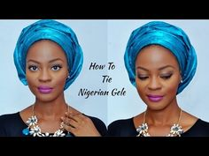 Easy Tutorial | How To Tie Your Own Sego Headtie 'Gele' With Perfect Pleats - YouTube