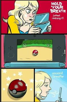 POKEMON TRUTH! <---That and pushing the button 1000 times while it's rocking like that will make it more likely to work