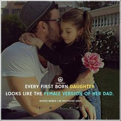 Inspiring, Cute, Attitude Quotes for Girls Father Daughter Love Quotes, Father Love Quotes, Love My Parents Quotes, Mom And Dad Quotes, I Love My Parents, Crazy Girl Quotes, Fathers Love, Sister Quotes, Girly Quotes