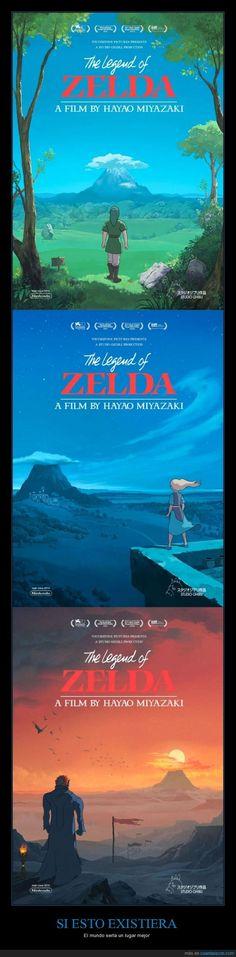 Hayao Miyazaki y La Leyenda de Zelda pegan DEMASIADO - El mundo sería un lugar mejor