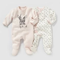 Pyjama molleton (lot de 2) R Mini | La Redoute