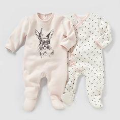 Pyjama molleton (lot de 2) R Mini | La Redoute