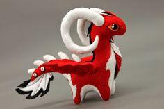 MADE TO ORDER Soft toy dragon fantasy plush animal textile toys Soft sculpture… Felt Dragon, Clay Dragon, Dragon Crafts, Dragon Egg, Plush Animals, Felt Animals, Fabric Toys, Egg Art, Kawaii