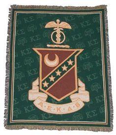 Campus Classics - On Sale! Kappa Sig Full Color Afghan: $44.95