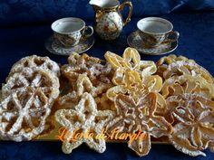 Frittelle fatte con il ferro Quando tutte le frittelle saranno pronte, spolverizzatele con lo zucchero a velo o con del cioccolato fuso,....