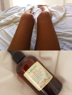 I apply this body serum on my legs and knees at night. It's making my skin look shiny, lighter and so soft. I was thinking to use this oil to tan with but I ended up using it to help soften my skin. I read the complete list of ingredients and then I googled each ingredient. All ingredients on this formula are amazing!
