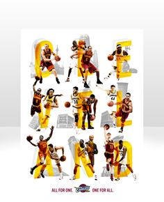 Cleveland Cavaliers Team Posters on Behance