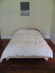 2 X 8 Bed: 5 Steps (with Pictures) Making A Bed Frame, Diy Bed Frame, Dyi Beds, Diy Platform Bed Plans, Bedroom Accessories, How To Make Bed, Diy Furniture, Home Improvement, Bedroom Decor
