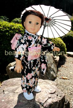 Kimono for American girl doll