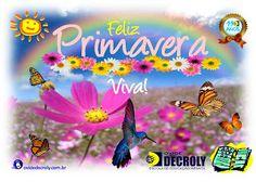 Escola de Educação Infantil Ovide Decroly: Feliz Primavera, Viva!