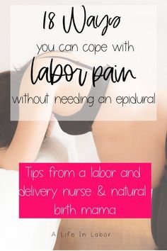 Learn 18 tips for how to manage labor pains from a labor nurse. These pain management techniques will get you through the toughest parts of labor and birth. All About Pregnancy, Pregnancy Tips, Labor Nurse, Prepare For Labor, Birth Affirmations, Childbirth Education, Natural Birth, Natural Baby, Pain Management