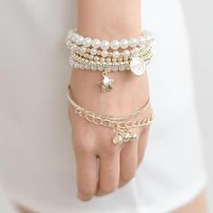 Buy 'SO Central – Set of 6: Faux-Pearl Bracelet' with Free International Shipping at YesStyle.com. Browse and shop for thousands of Asian fashion items from Hong Kong and more!