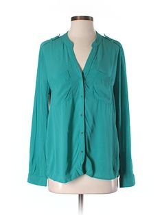 Check it out—Banana Republic Factory Store Long Sleeve Blouse for $15.99 at thredUP!