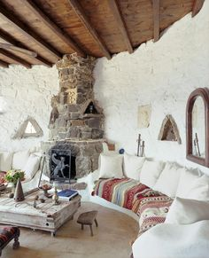 Country rustic villa for rent in Mykonos