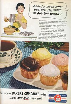 Baker's Cupcakes - 1950