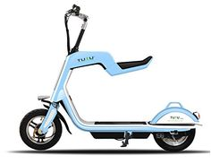 TuTu SL350 Electric Scooter with Foldable Seat and Remote...