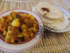 Cocina Costarricense: picadillo de papa