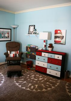 One of our inspiration rooms when we designed the kid's nursery.