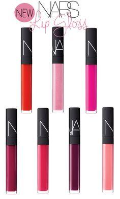 New NARS lipgloss