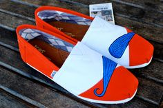 University of Auburn Mustache TOMS by BStreetShoes on Etsy. $89.00, via Etsy.    NEED!