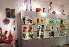 Solinglass at Kitttrell Riffkind Art Glass Gallery