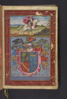 Medieval & Renaissance Manuscripts Collection: CAJS Rar Ms 303 - Spain. Sovereign (1556-1598 : Philip II) - Carta executoria de hidalguia a pedimiento : de Rrodrigo Calera, v[e]z[ino] de Villarrobledo