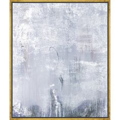 Lend a touch of style to your parlor or foyer with this artful canvas print, showcasing an abstract motif in grey. Product: Canva...
