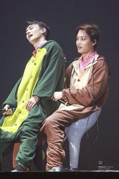Chen and Kai Kim Min Seok, Xiu Min, Exo Ot12, Kaisoo, Exo Chen, Exo Kai, Sehun And Luhan, Chanyeol, Kim Joon Myeon