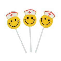 Smile Face Nurse Suckers - OrientalTrading.com