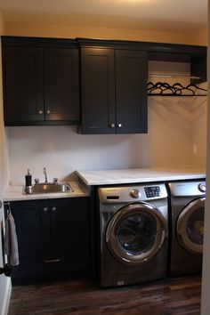 Laundry Solutions, Laundry Design, Stacked Washer Dryer, Mudroom, Home Appliances, Spaces, Ideas, Laundry Room, House Appliances