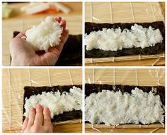 Homemade sushi pointers and step-by-step directions for California Roll