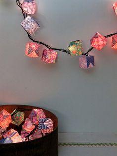 100 Origami Paper Lanterns