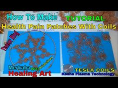 NaTuber Tv: How To Make Health Patches With Coils part 2 - Hea...