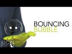 Sick Science: Bouncing Bubbles! Dry Ice Bubbles, Super Bubbles, Preschool At Home, Preschool Science, Craft Activities For Kids, Science Activities, Science Experiments Kids, Science Fair, Science Projects