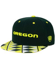 cb65b5c85b4 Top of the World Oregon Ducks Tribe Snapback Cap Men - Sports Fan Shop By  Lids - Macy s