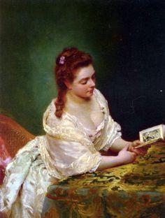 La Lettre, Gustave Jean Jacquet