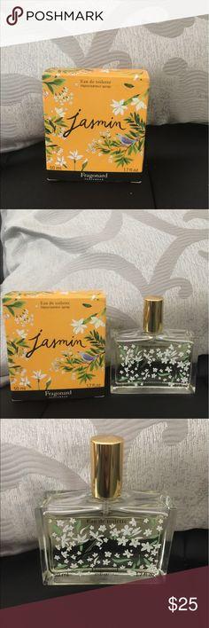 Fragonard Jasmin Eau de Toilette Brought this straight from Paris in the Fragonard factory! Notes: bergamot, orange blossom, jasmine and Amber. Light and lovely! 50ML Spray. New in box. 🌸🌸 fragonard Other
