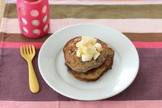 Sweet Potato Pancake Recipe via yummytoddlerfood.com