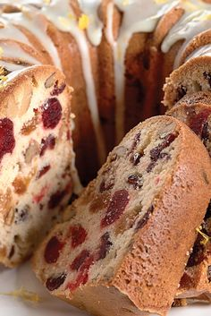 Orange-Cranberry-Nut Fruit Cake Recipe