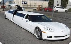 Corvette limo...LOL