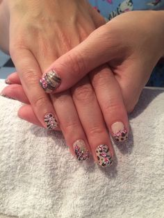 Leopard and roses xx