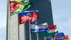 """A news outlet operated by the United Nations published then removed a post Thursday night that had called for Americans living abroad to """"end Trump."""" (AP Photo/Richard Drew, File)"""