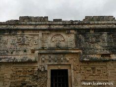 Casa de Las Monjas. Zona Arqueológica Maya de Chichén Itzá (Yucatán, México).