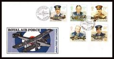 British Stamps - Royal Air Force FDC