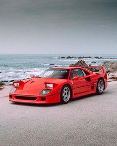 13 Ferarri Cars Every Guy Dreams Of - Sportwagen und rennsports Ferrari F40, Maserati, Lamborghini Gallardo, New Sports Cars, Super Sport Cars, Exotic Sports Cars, Exotic Cars, Audi, Bmw Autos