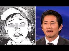 Steven Yeun Has His Comic Books To Keep Him Warm - CONAN on TBS