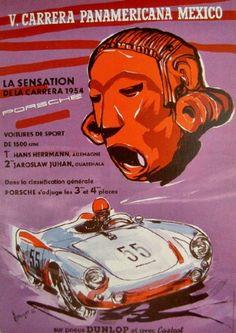 1954 Carrera Panamericana Porsche