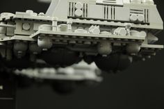 Lego USCSS Nostromo with Refinery (Alien Motion Picture, 1978)