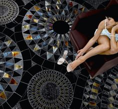 The Mosaic Art Factory - The SICIS concept of luxury. Discover the brand and the collections (Mosaic, Art Gallery, Next Art, Jewels, Watches). Tile Art, Mosaic Art, Mosaic Glass, Mosaic Tiles, Stained Glass, Carpet Tiles, Rugs On Carpet, Imperial Tile, Sicis Mosaic