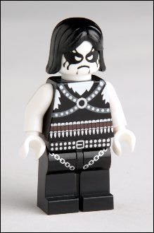 First I find out Lego has released a librarian figure, then this? Black metal + Legos = World's Most Bad-ass Toy.